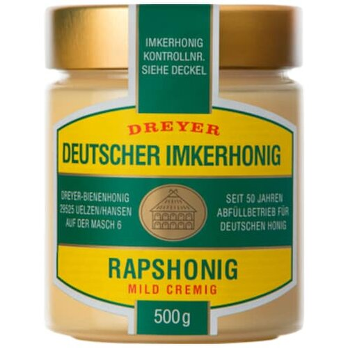 Dreyer Deutscher Rapshonig 500g