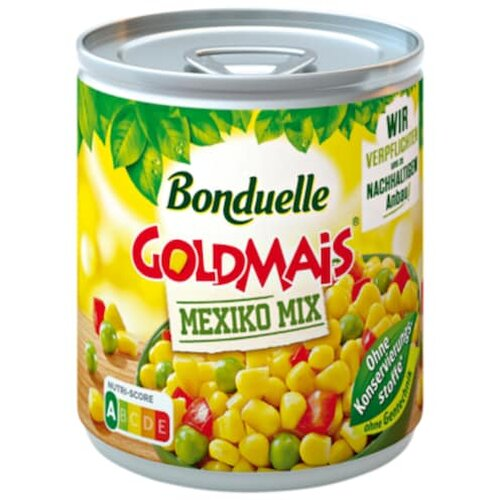 Bonduelle Goldmais Mexiko Mix 170g