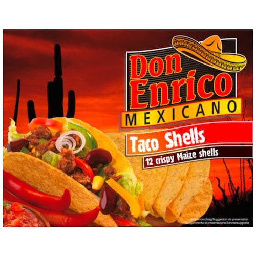 Don Enrico Taco Shells 12ST 135g