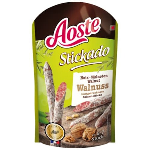 Aoste Stickado Walnuss 70g