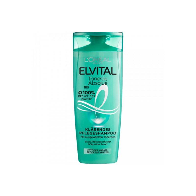 Elvital Shampoo Tonerde Absolue Für Fettigen Ansatz Und Trockene