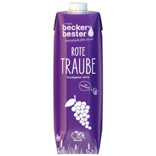 beckers bester Traubensaft 1l