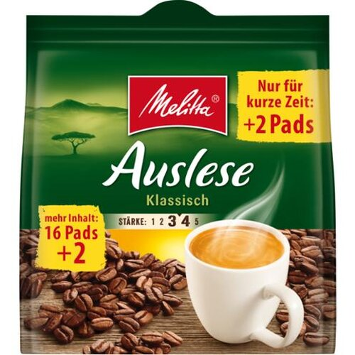 Melitta Cafe Auslese Pads 126g