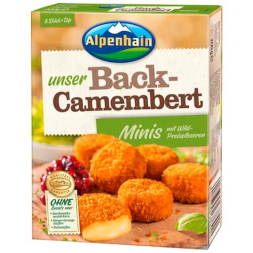 Mini-Back-Camembert Gourmet 200g