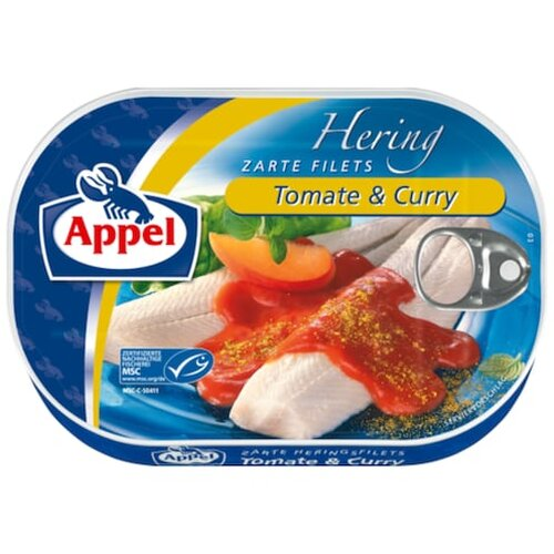 Appel Hering Tomate Curry 200g