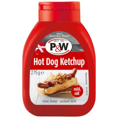 P&W Hot Dog Ketchup 275 g