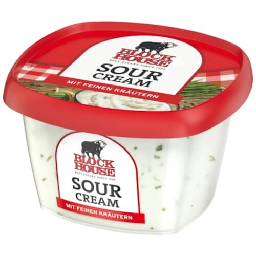 Block House Sour Cream 200g
