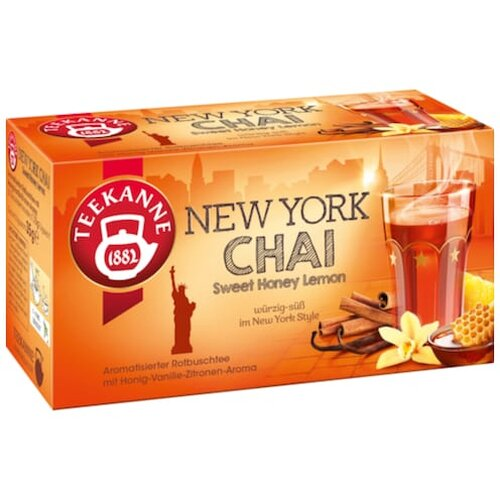 Teekanne New York Chai 20er