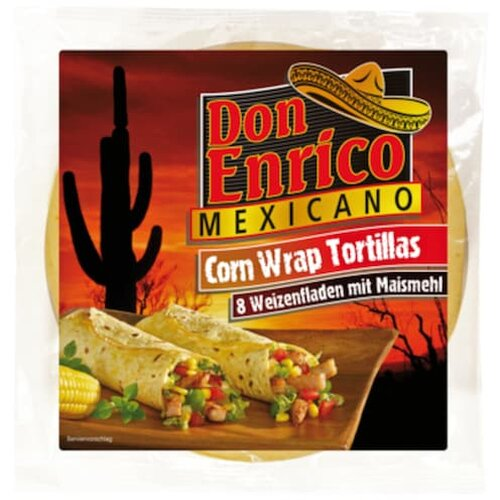 Don Enrico Wrap Tortillas 320g