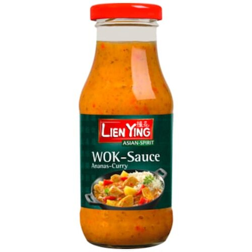 Lien Ying WOK-Sauce Ananas-Curry 240ml