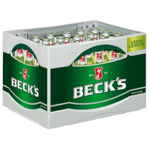 Becks Green Lemon 24x0,33l Kiste
