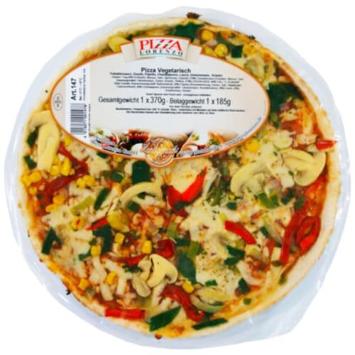Lorenzo Pizza Vegetarisch 370g