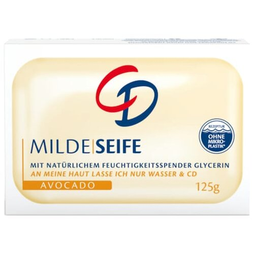 CD Milde Seife Avocado 125g