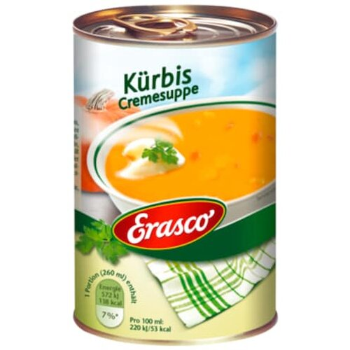 Erasco Kürbis Creme-Suppe 390ml