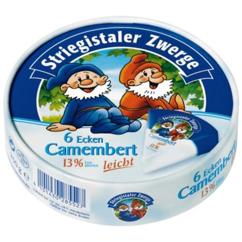 Striegistaler Zwerge Camembert 30% 250g