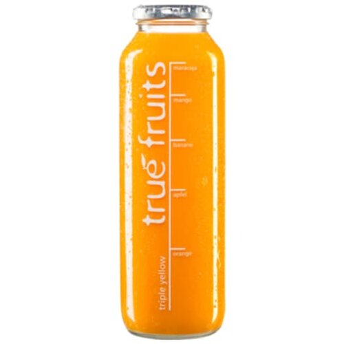 true fruits Smoothie triple yellow 0,75l