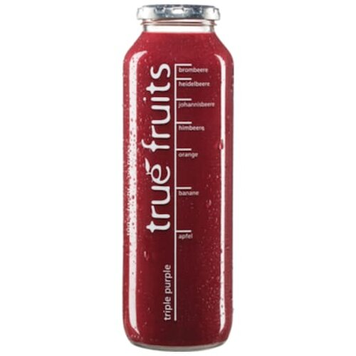true fruits Smoothie triple purple 0,75l