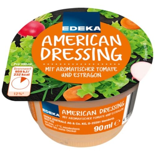 Salatdressing Creme Saucen