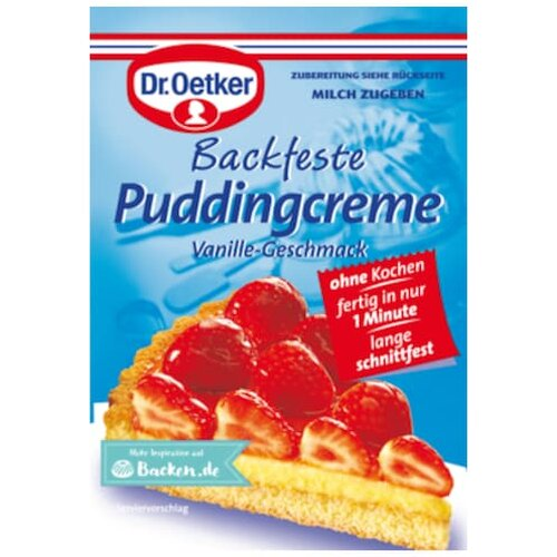 Dr.Oetker Backfeste Puddingcreme 40g