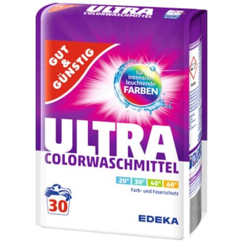 Gut & Günstig Color Plus Colorwaschmittel 30WL 2,025kg
