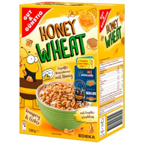 Gut & Günstig Honey Wheat 2er 375g