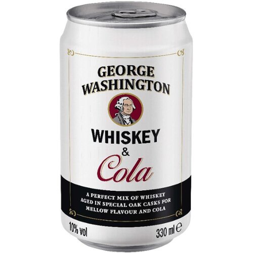 George Washington Whisky  & Cola 10% 12er 0,33l