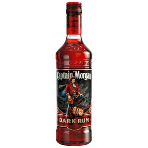 Captain Morgan Black Jamaica Rum 40% 0,7l