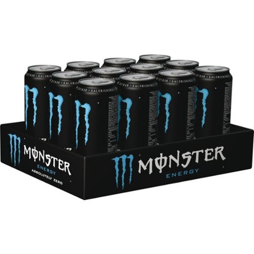 Monster Absolutely Zero 12x0,5l Träger