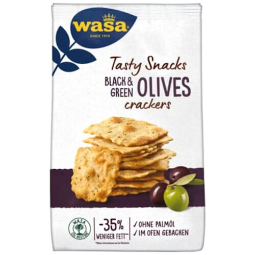 Wasa Delicate Cracker Olive 150g