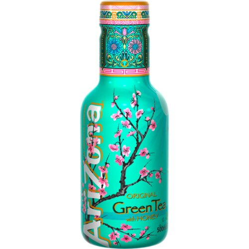 AriZona Green Tea with Honey 0,5l