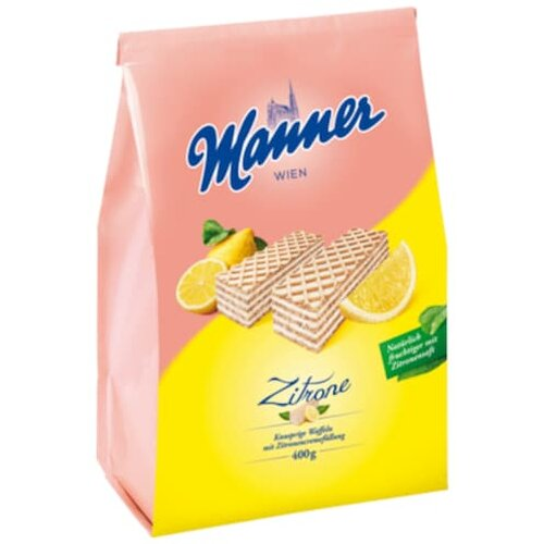 Manner Zitronencreme Schnitten 400g