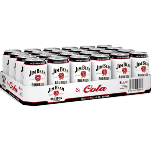 Jim Beam White&Cola 10% 0,33l