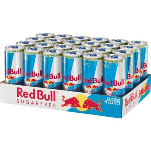 Red Bull Sugarfree 24x0,25l
