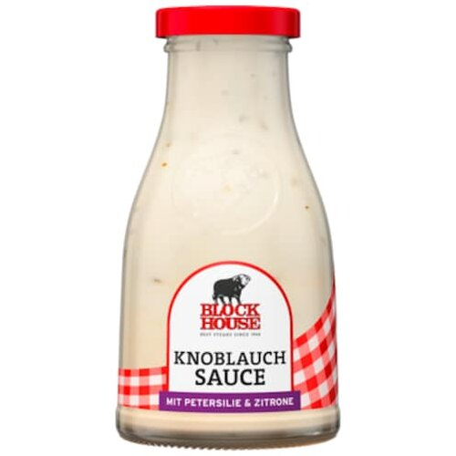 Block House Knoblauch Sauce 240ml