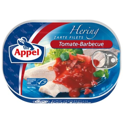 Appel Heringsfilets Tomate Barbecue 200g