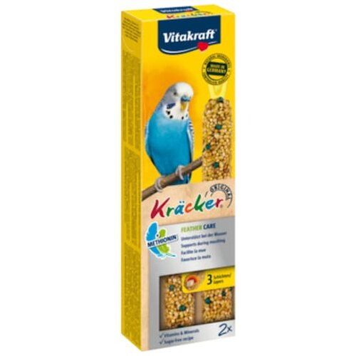 Vitakraft Kräcker Feather Care für Sittiche 2x30g