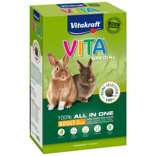Vitakraft Vita Special All in One Zwergkaninchen 600g