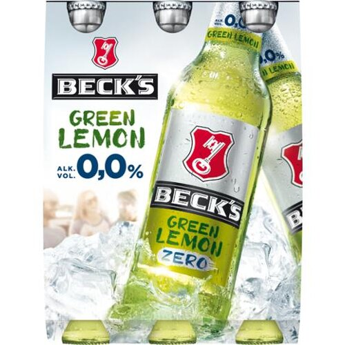 Becks Green Lemon Zero 6x0,33l