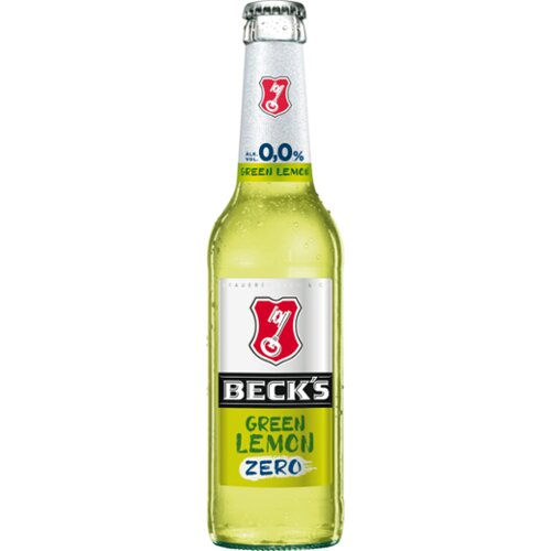 Becks Green Lemon Zero 0,33l