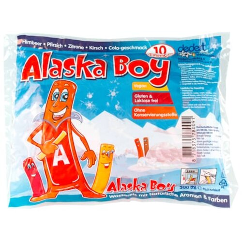 Alaska Boy Icesticks 10x50ml