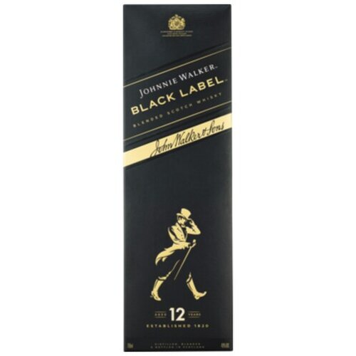 Johnnie Walker Black Label Old Scotch Whisky 12 Years Old...