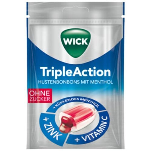 Wick Triple Action o.Zucker72g