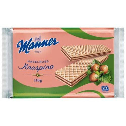 Manner Knuspino Haselnuss 110g