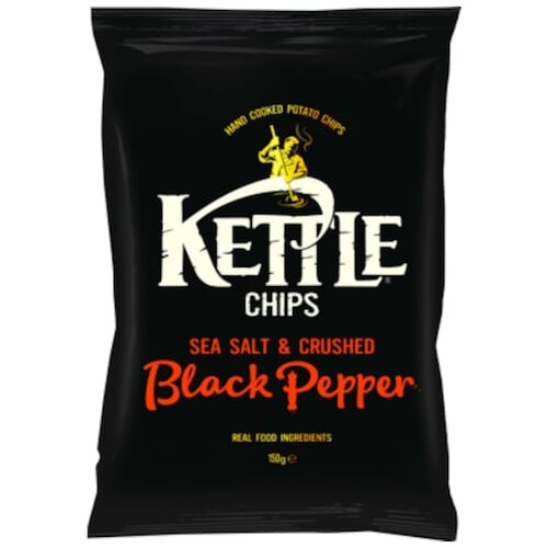 Kettle Chips Schw.Pfeffer 150g