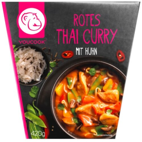 YC Rotes Thai Curry 420g