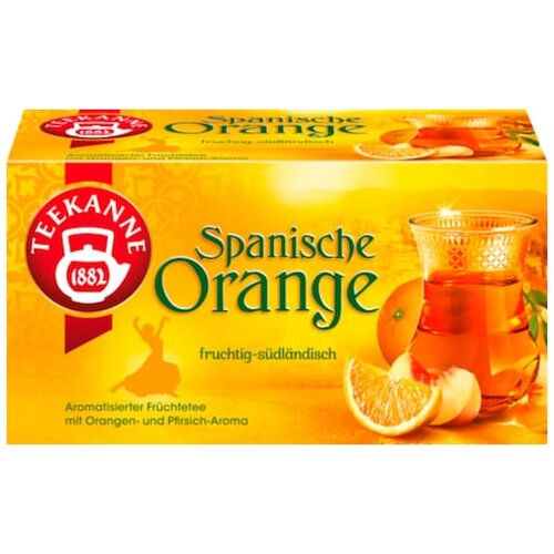Teekanne Spanische Orange 20er