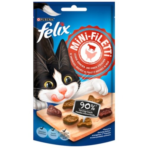 felix Mini-Filetti Huhn & Rind 40g