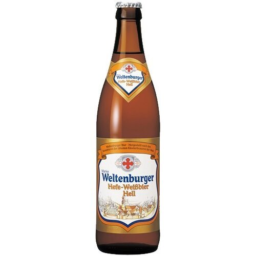 Weltenburger Hefe Hell 0,5l
