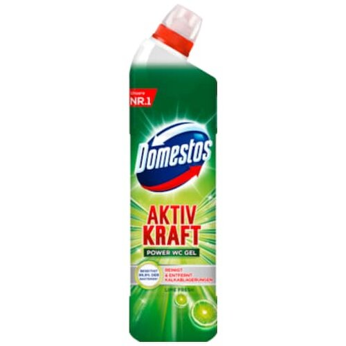Domestos WC Gel Aktiv Kraft Reiniger Lime Fresh 750ml