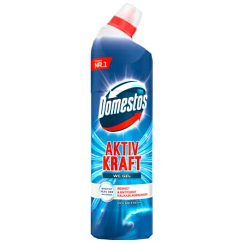 Domestos aktiv Kraft WC Gel Ocean fresh 750ml